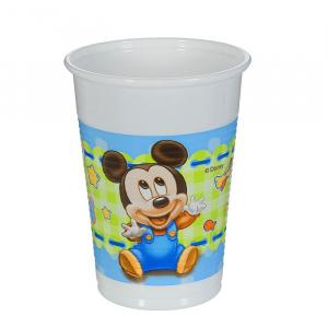 "Стаканы пластиковые 200 мл ""Малыш Микки"" (набор 8 шт) / Baby Mickey"