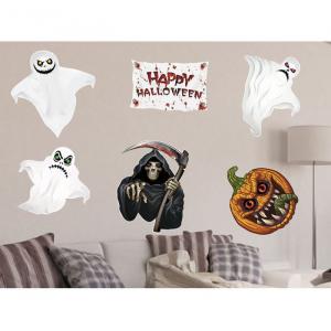 """Набор для оформления Хеллоуина """"Призраки"""" 6 шт."""