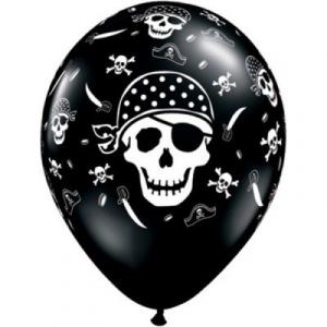 """Воздушные шары пиратские """"Пират"""", 30 см"""