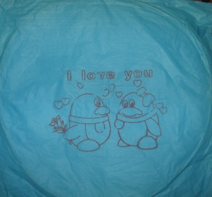 """Большой шар """"I LOVE YOU"""""""
