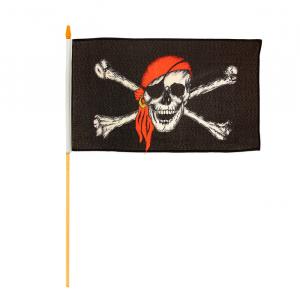 Флаг пирата 30*45 см