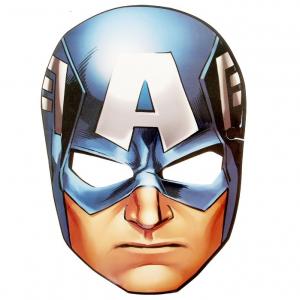 """Маска карнавальная """"Капитан Америка"""", Мстители"""