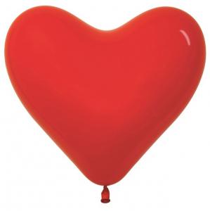 """Шар Воздушный Сердце 12"""" Красный Sempertex"""