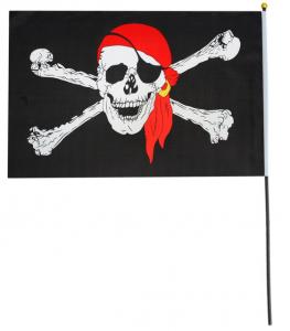 Флаг пирата в бандане 60*90