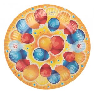 """Набор тарелок """"Воздушные поздравления"""" (6 шт.), 18 см"""