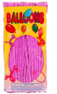 Воздушные шары для моделирования, фиолетовый