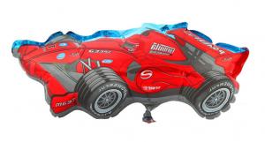 """Шар фольгированный минифигура 3 12"""" Машина гоночная красная ФМ"""