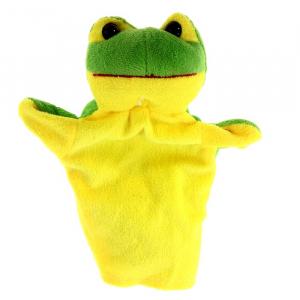 "Мягкая игрушка на руку ""Лягушка"""