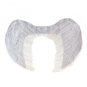 Крылья ангела, цвет белый, 40 см х 35 см