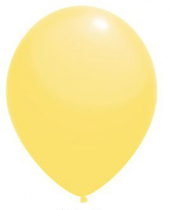 "Воздушный шар светло-желтый 12"""