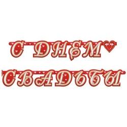 """Гирлянда """"С днем Свадьбы"""" 210 см"""