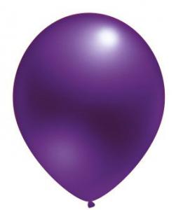 """Воздушный шар фиолетовый 12"""" Металлик"""