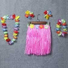 """Костюм """"Гавайская вечеринка"""" 2 (юбка, бусы, браслеты, венок)"""