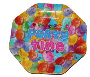 Тарелка Party Time, 6 шт