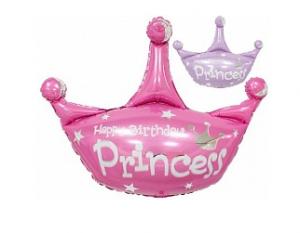 """Фольгированный шар  """"Корона"""", СДР Принцесса 32""""/81 см"""