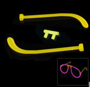 Светящиеся очки + 2 световые палочки