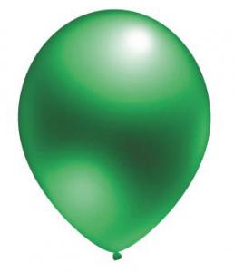 "Воздушный шар зеленый 12"" Металлик"